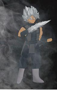 Goku Black x Smoke crossover