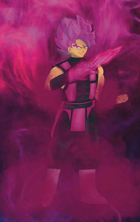 Goku Black x Smoke - Teddy's Art