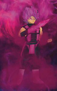 Goku Black x Smoke
