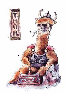 Mighty Llama Thor