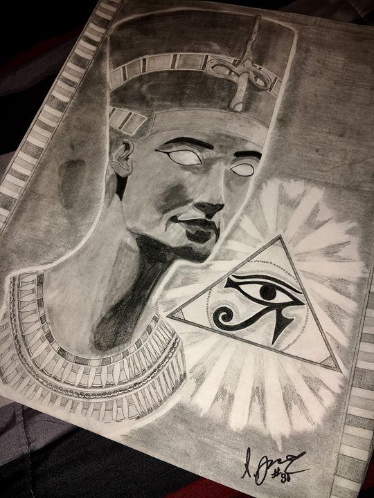 queen nefertari - Showouts Art