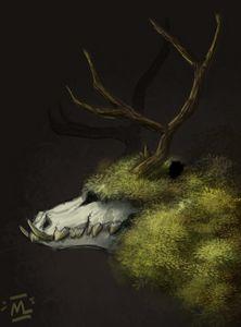 forest skullbeast