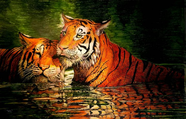 Two-Tigers - mickleo