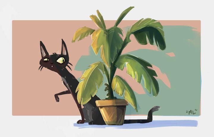 house cat - mickleo