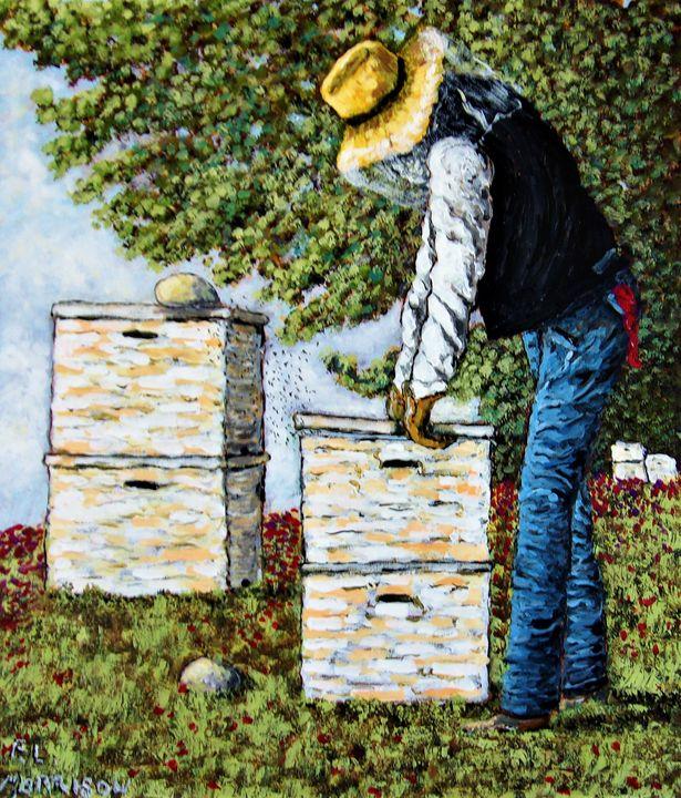 The Bee Keeper - Frank L. Morrison