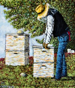 The Bee Keeper - Frank L. Morrison