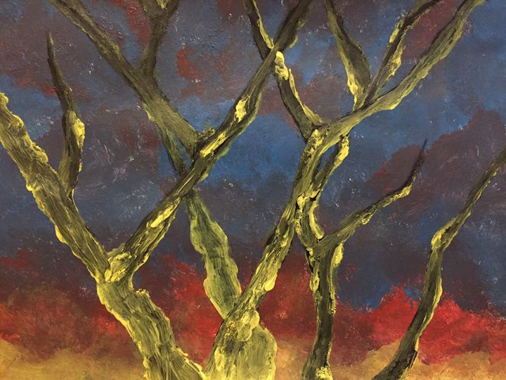 Lightning Tree - Coral