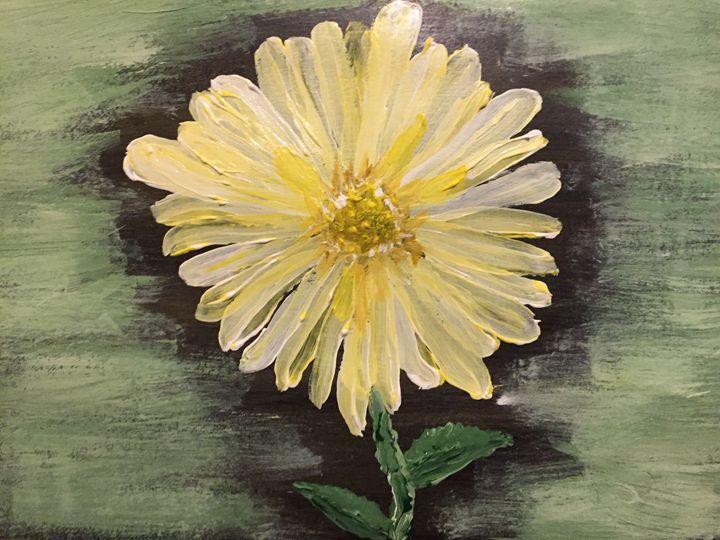 Full daisy - Coral