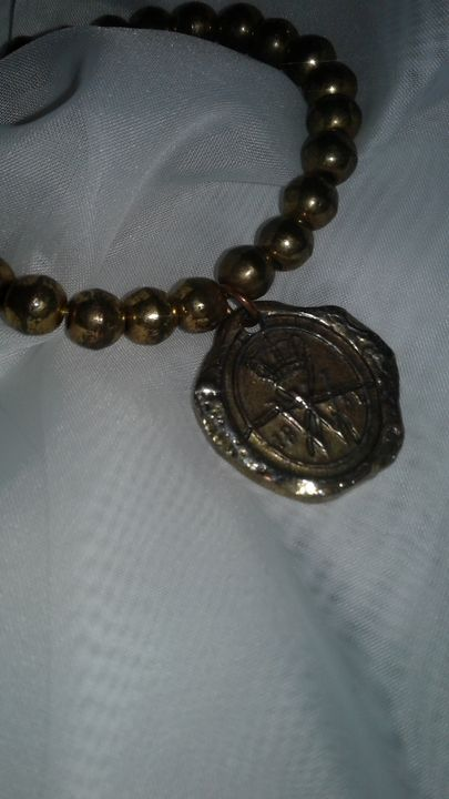 heavy vintage bracelet - M