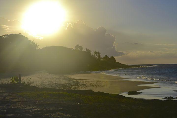Beach Sunset - J. R. Zapala