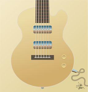 Big Blonde Guitar