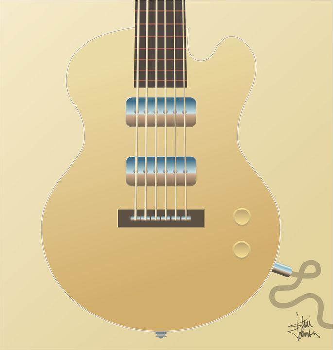 Big Blonde Guitar - S and S Designs