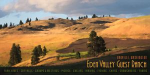 Eden Valley Travel Poster