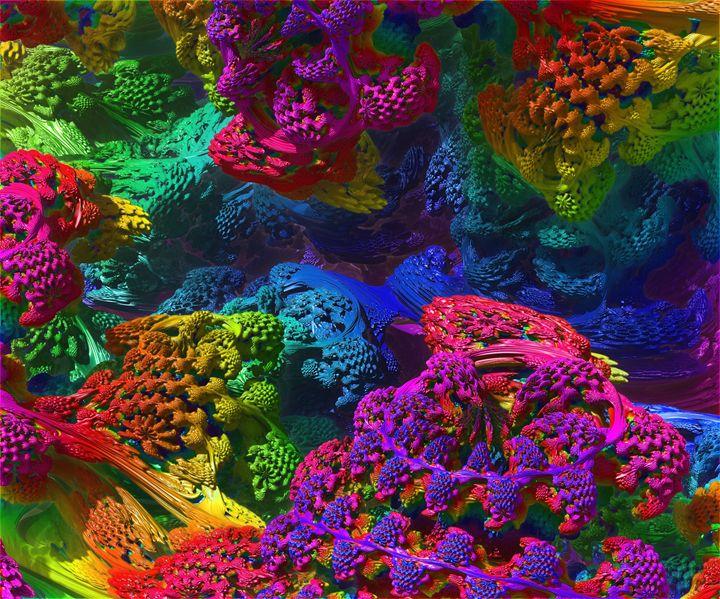 The colour world - ORIGINALARTbyANDREA
