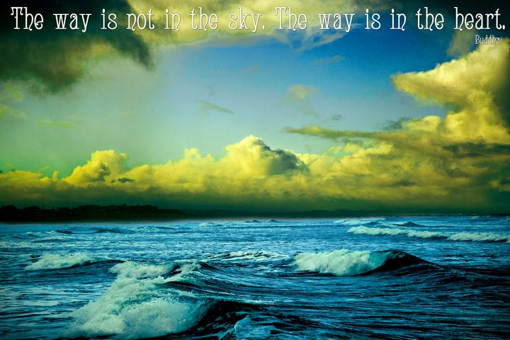 Inspirational Buddha Quote - ORIGINALARTbyANDREA