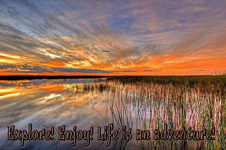 Life adventure quotes - ORIGINALARTbyANDREA