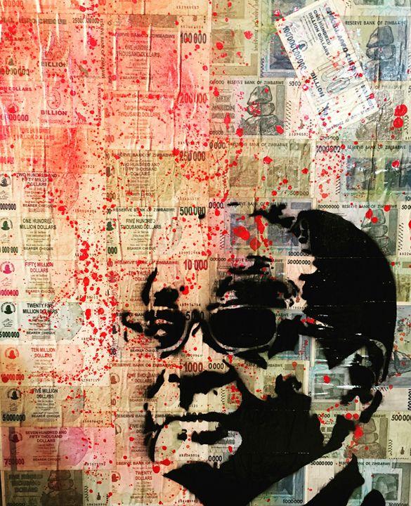 Blood Money - Xander Hodges Art