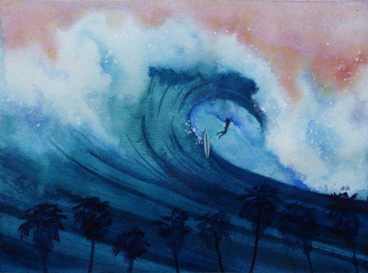 Falling Sideways - Nelson Makes Art!