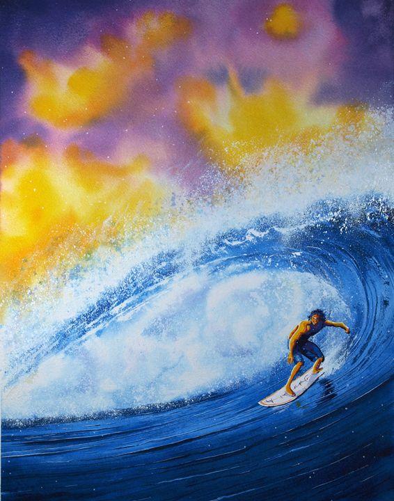 Sir Surfsalot - Nelson Makes Art!