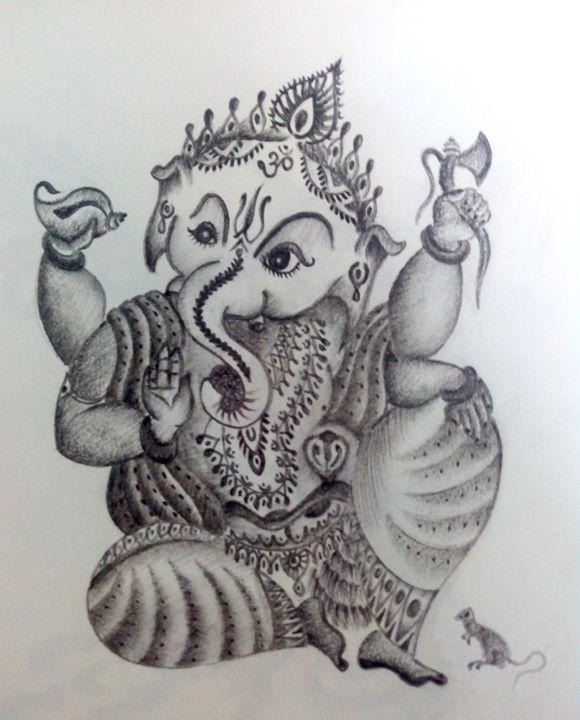 lord ganesha - rudra