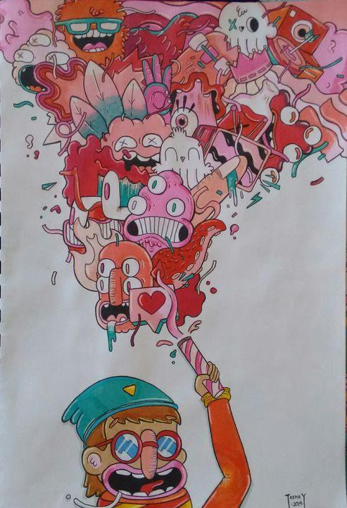 Cosmos pink - teekayz