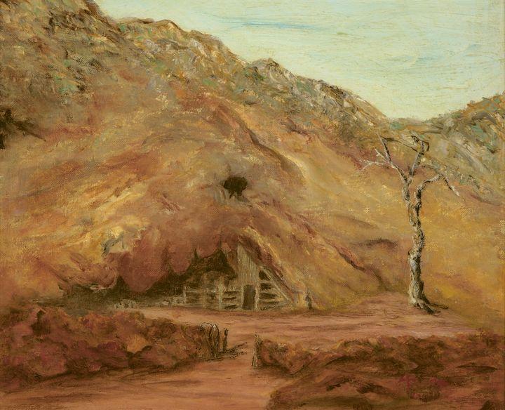 Miners Camp Fraser Range Norseman - Audrey Flower Artist