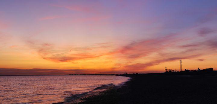Hayling Island Sunset - Gav Argent Photography