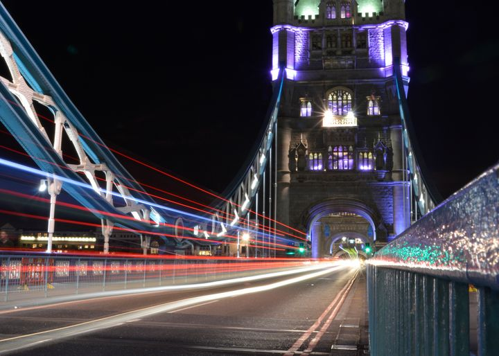 Tower Bridge Light Trails - Gav Argent Photography