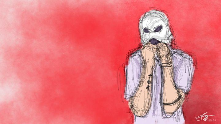 Tyler Joseph - Digital Drawing - BeingUncool