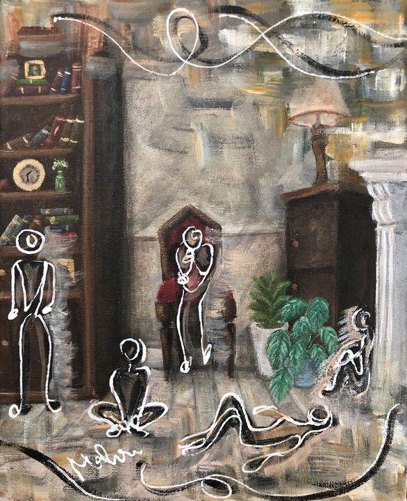 Boredom - Mahra Artworks