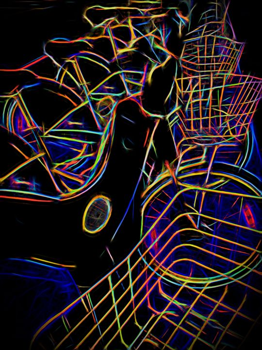 abstract me - neonflash art photography