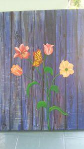 Floral original  painting