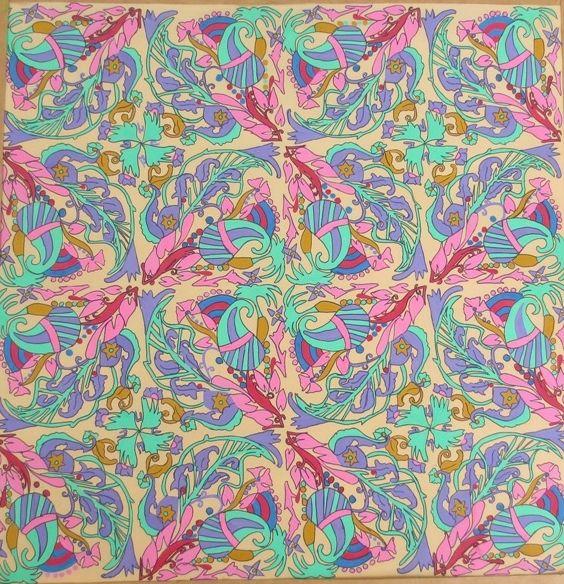 Paisley  original print - Rabia art