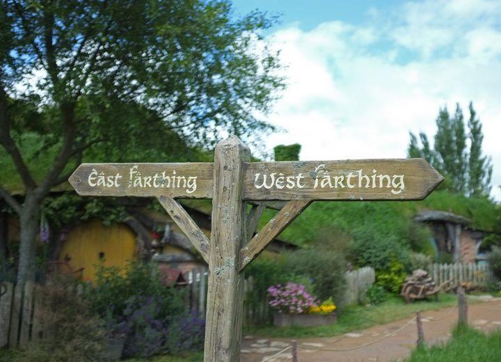 Hobbiton East & West Farthing - Hobbiton, Matamata, New Zealand