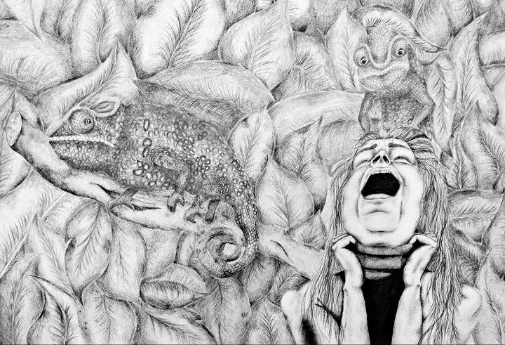 Chameleon on me - RODRICK FORSI