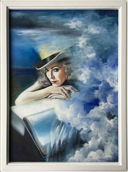 Cloud Woman - Oil on Canvas