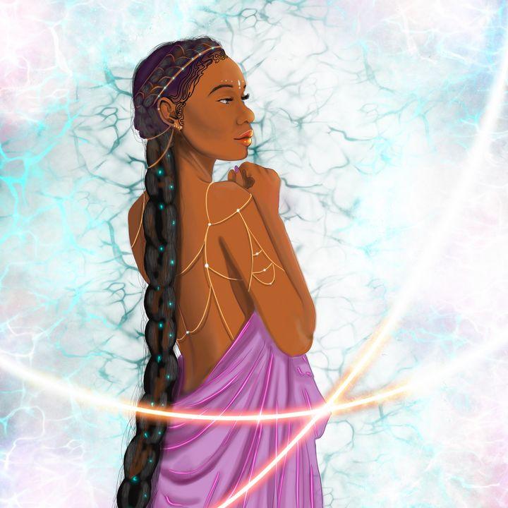 Water Goddess - freyja's art gallery