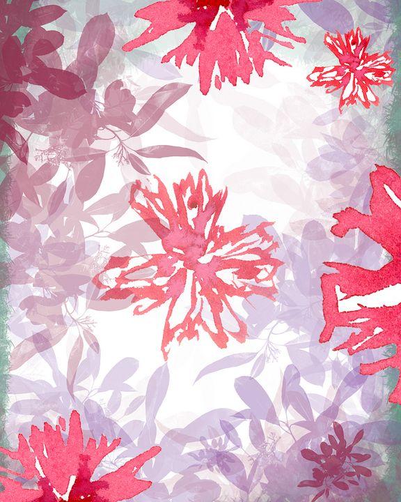 Scarlet bloom - freyja's art gallery