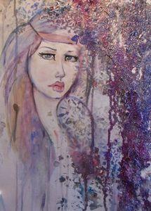 watercolor mixed media
