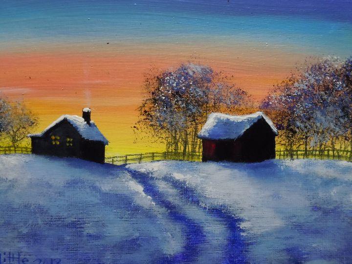 Winter Farm - Robert Little