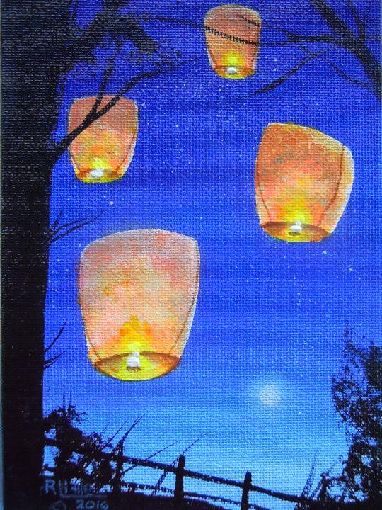 Evening Hopes - Robert Little