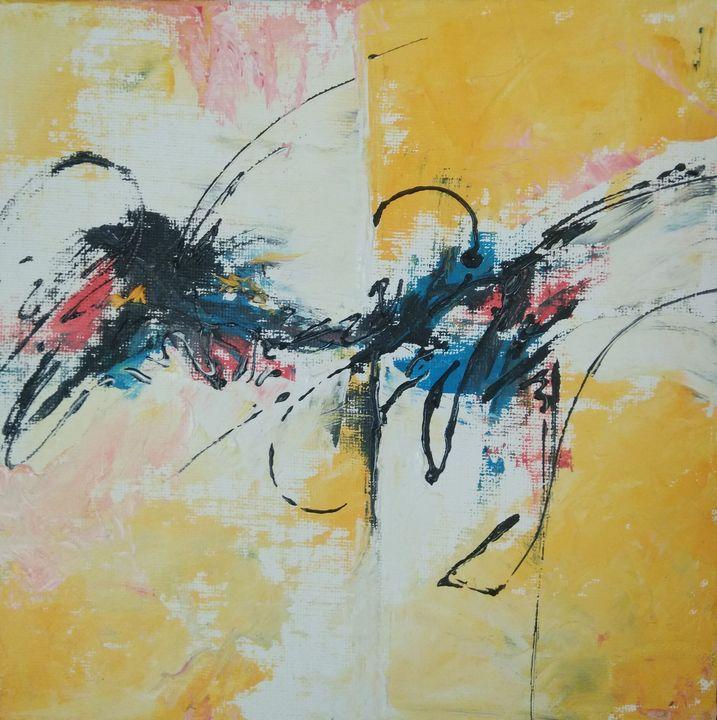 Colour flow - Brush strokes