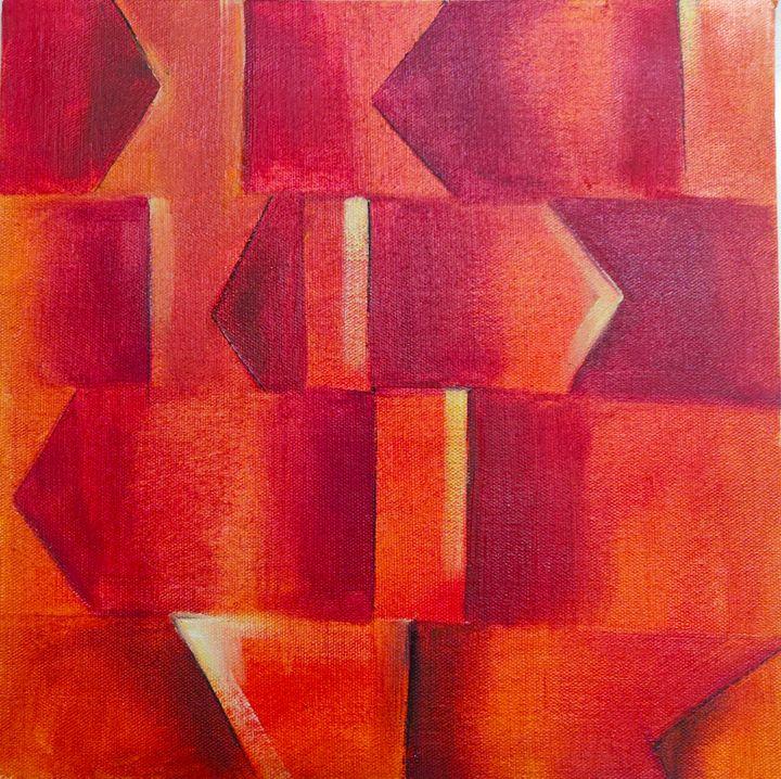 Geometric - Brush strokes