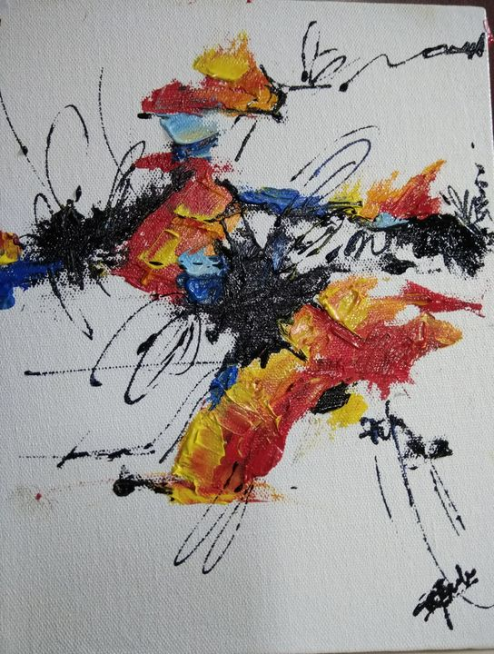 Splash of colours - Brush strokes