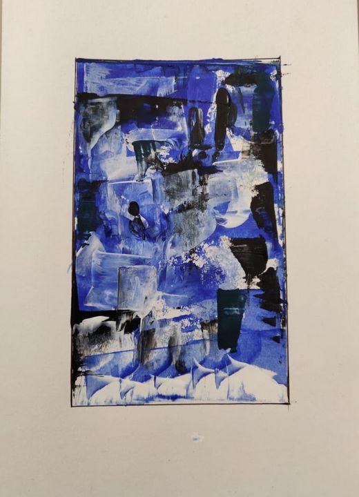 abstract - Brush strokes