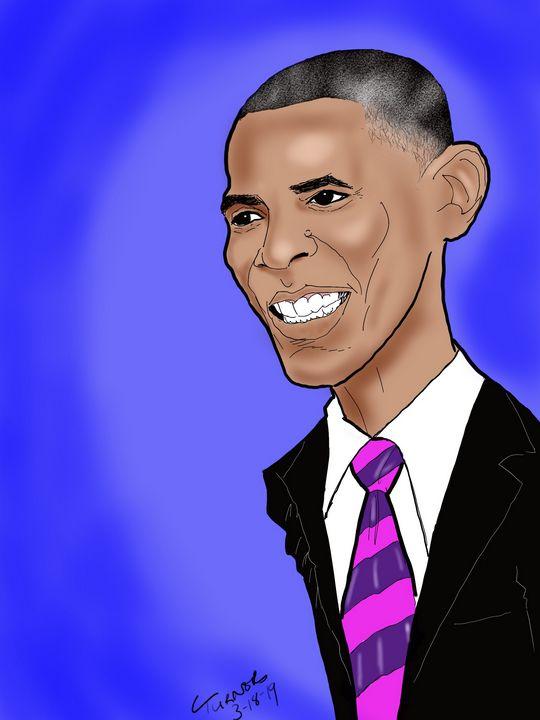 Obama - CeeturnArt