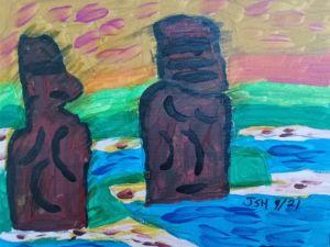 Easter Island - Jonathan Sammuel Harrold