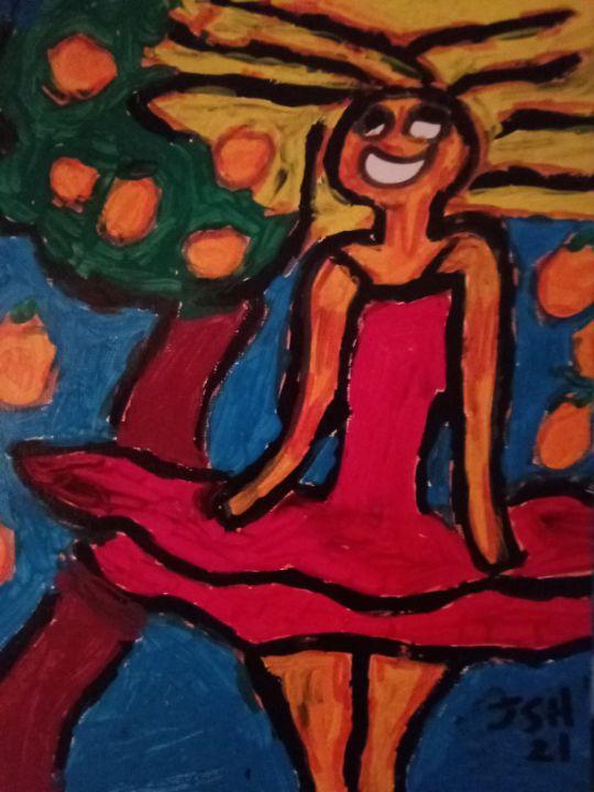 Miranda and the Orange Tree - Jonathan Sammuel Harrold