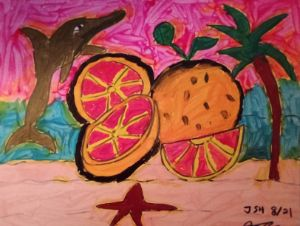 Grapefruit Beach - Jonathan Sammuel Harrold
