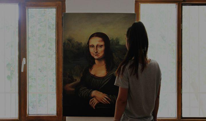 MONA LISA REPLICA BY DORI RADU - Dori Radu